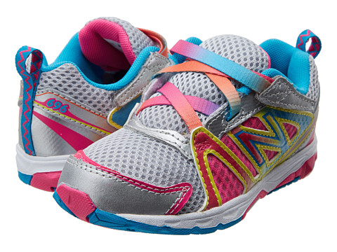 New Balance Kids - KV696 (Infant/Toddler) (Rainbow) Girls Shoes