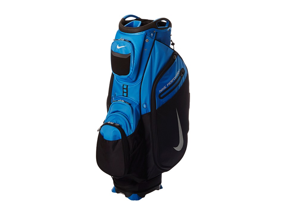 Nike Golf - Performance Cart II Bag (Military Blue/Silver/Black) Duffel Bags