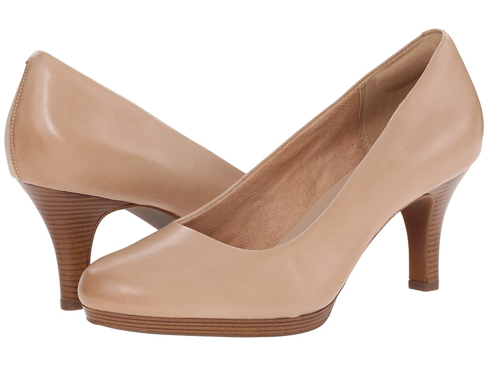 Clarks - Tempt Appeal (Nude) High Heels