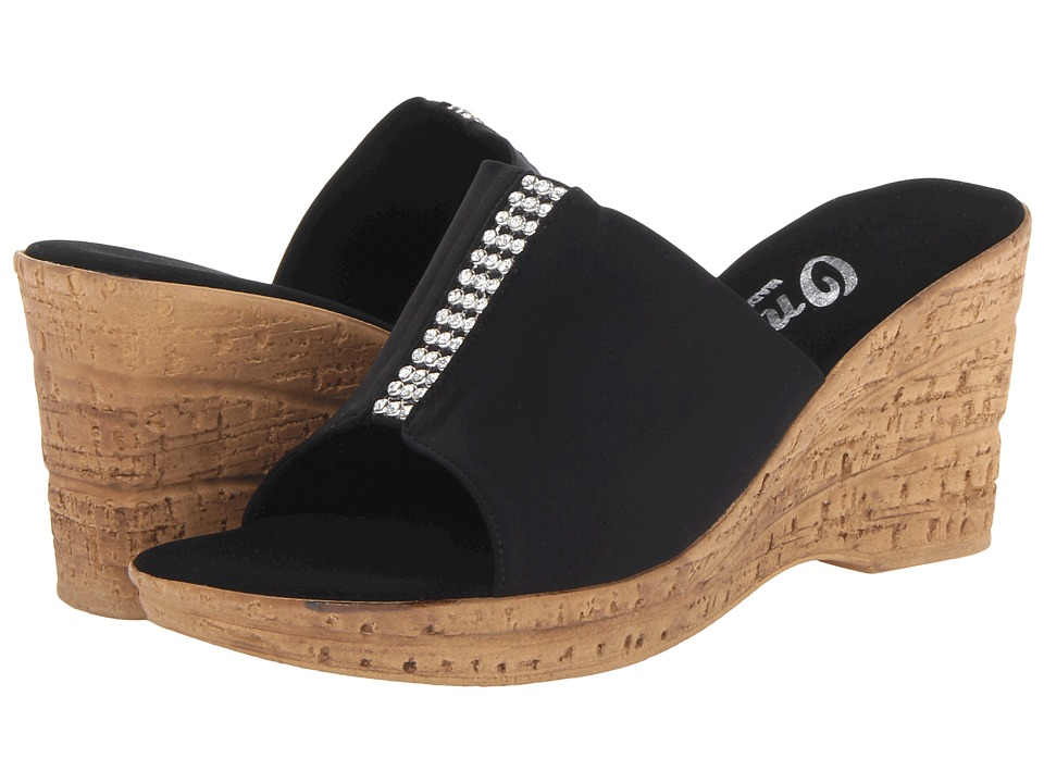 Onex - Billie (Black/Silver) Women's Slide Shoes