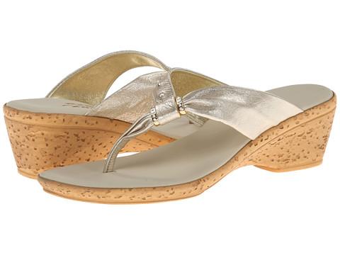 Onex - Paulie (Platinum Leather) Women's Sandals