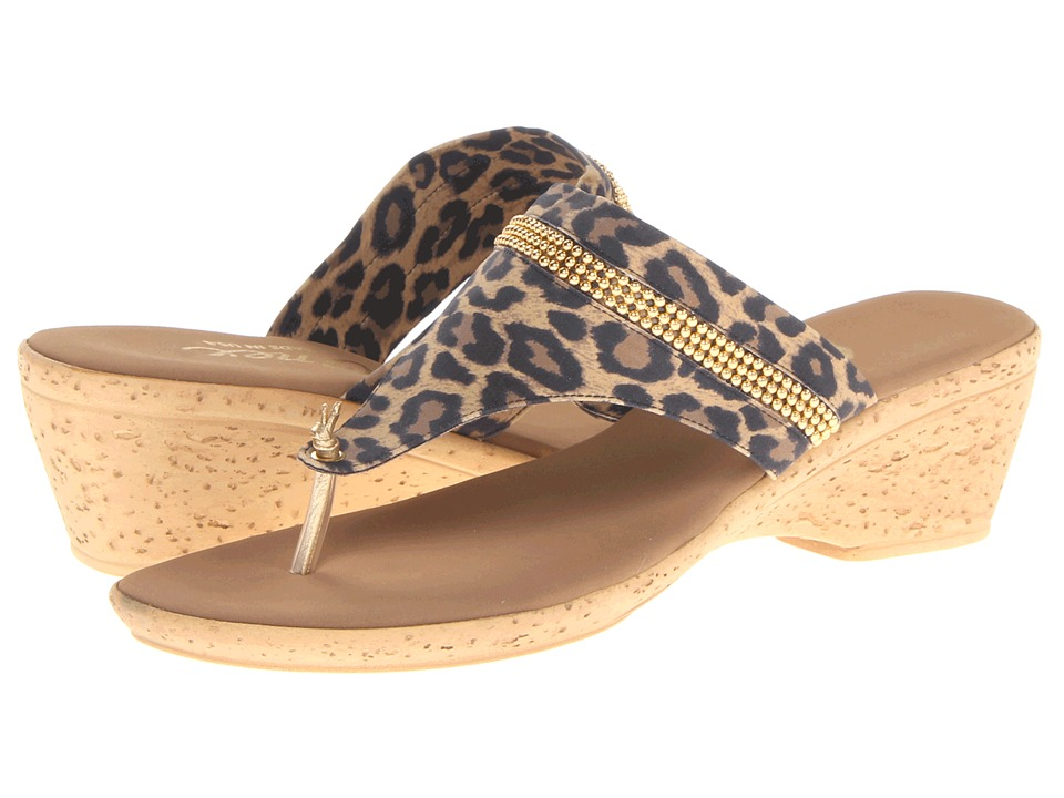 Onex - Tory (Brown Leopard Elastic) Women
