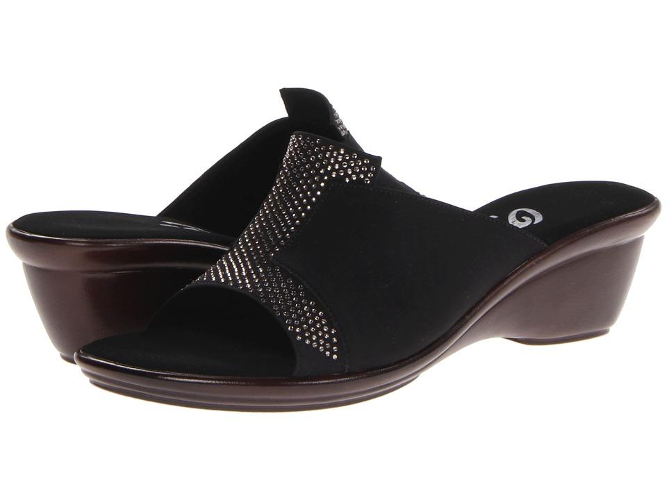 Onex - Andi (Black/Silver) Women's Slide Shoes