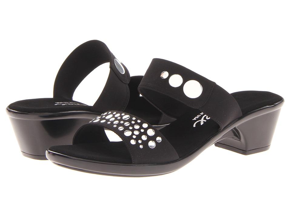 Onex - Sonic (Black/Silver) Women's Sandals