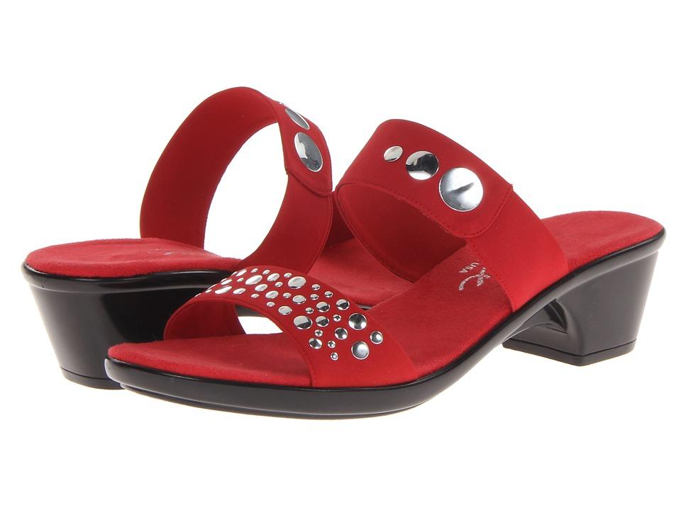 Onex - Sonic (Red Elastic) Women's Sandals