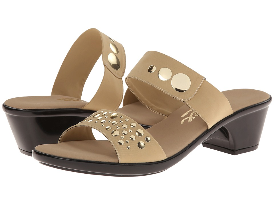 Onex - Sonic (Tan Elastic) Women's Sandals