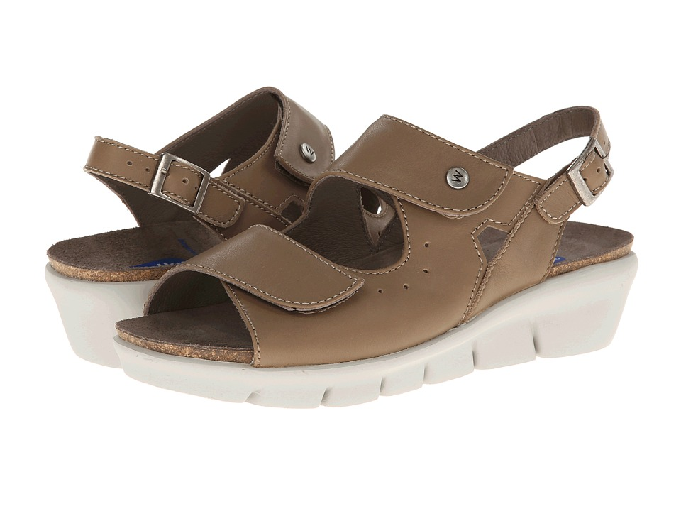 Wolky - Star (Walnut/White) Women's Shoes