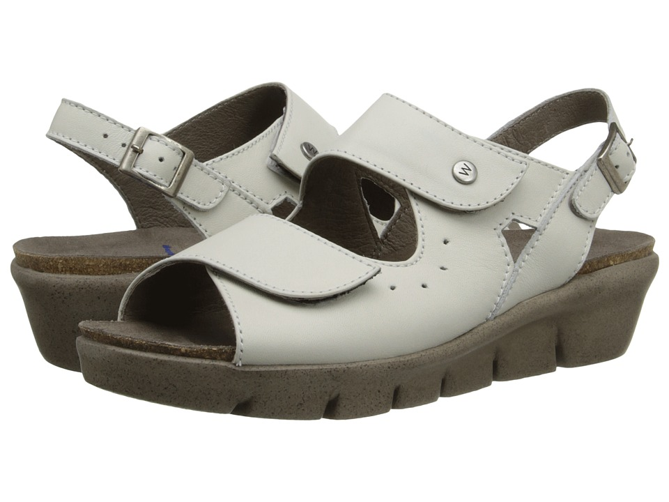Wolky - Star (White/Taupe) Women's Shoes