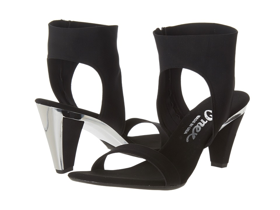 Onex - Showgirl-N (Black Elastic) Women's Sandals