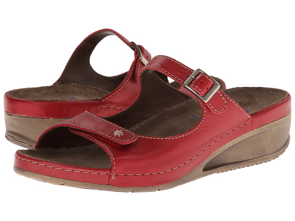 Wolky - Whirl (Red Metallic) Women's Shoes