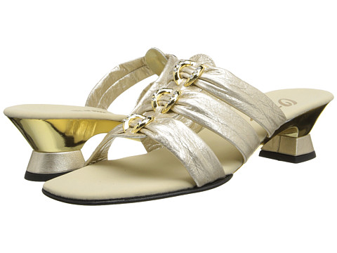Onex - Enchanted (Platinum Leather) Women's Dress Sandals