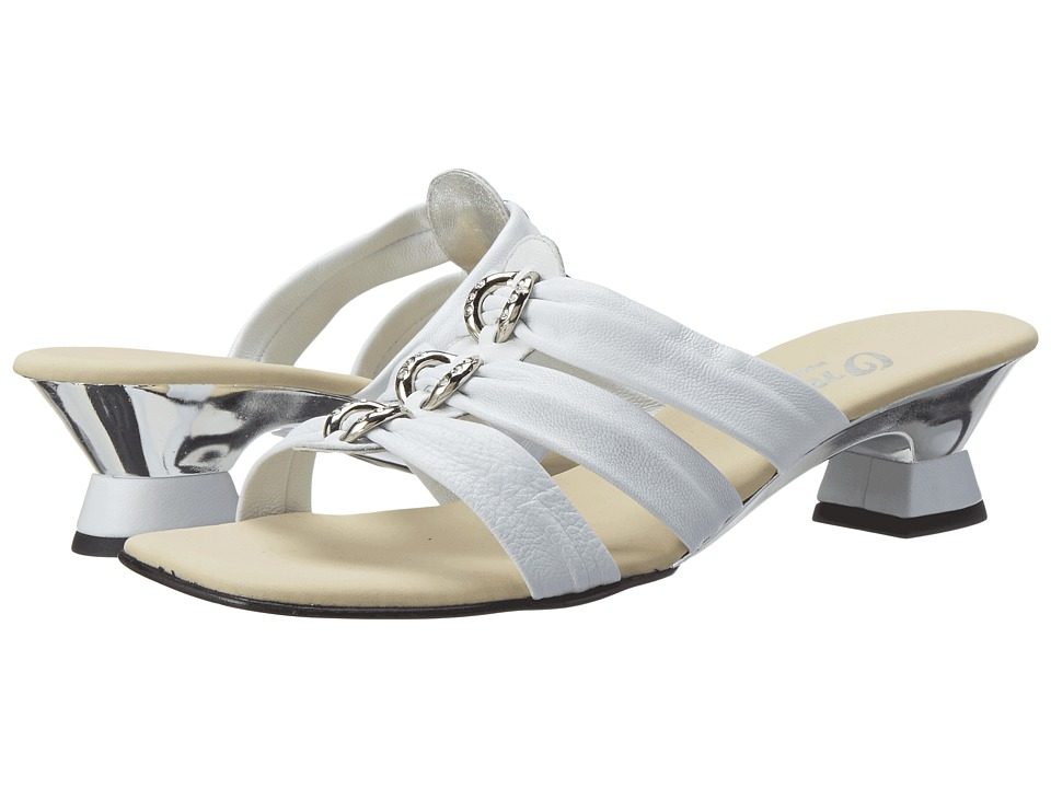 Onex - Enchanted (White/Silver) Women's Dress Sandals