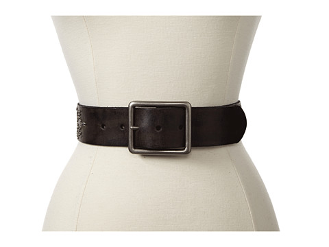 Bed Stu - Flor (Black) Women's Belts