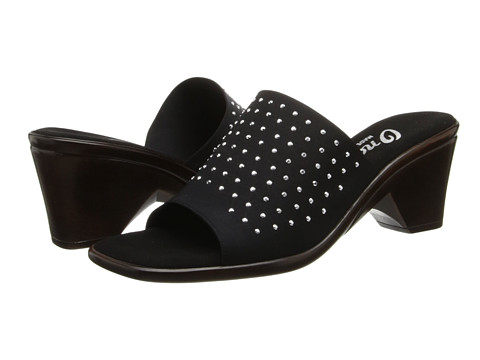 Onex - Too Cute (Black/Silver) Women's Slide Shoes