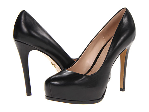 Pour La Victoire - Irina (Black Nappa Leather) High Heels