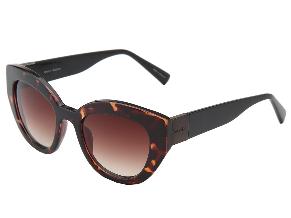 Cole Haan - C 6120 (Tortoise) Fashion Sunglasses