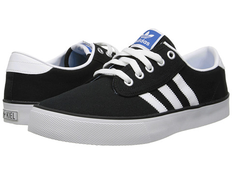 adidas Originals - Kiel 72 (Black/Running White/Bluebird) Classic Shoes