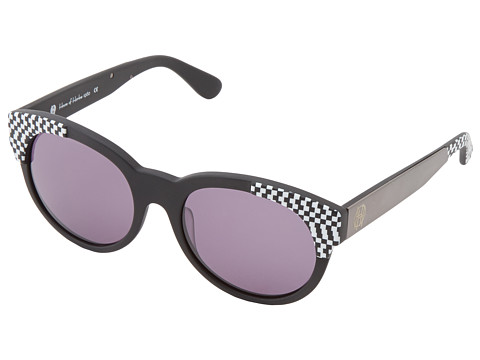 House of Harlow 1960 - Adalyn (Houndstooth) Fashion Sunglasses