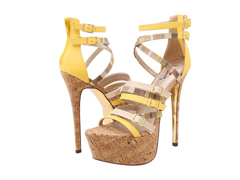 Luichiny - Al Theena (Yellow) High Heels