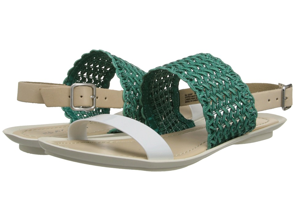 Kenneth Cole Reaction Un Snap Womens Sandals (Green)