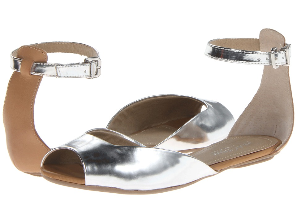 Kenneth Cole Reaction Fon Tina Womens Sandals (Silver)