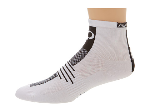Pearl Izumi - Elite Sock (White) Men's Crew Cut Socks Shoes