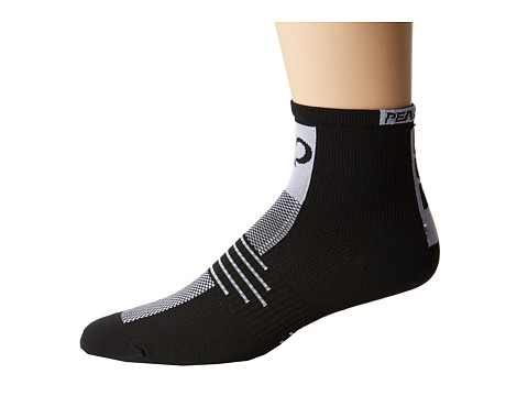 Pearl Izumi - Elite Sock (Black) Men's Quarter Length Socks Shoes