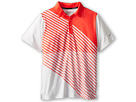 Nike Kids Novelty Graphic Polo (Big Kids) (Light Base Grey) Boy's Short Sleeve Pullover