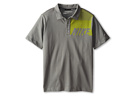 Nike Kids Sport Graphic Polo (Big Kids) (Med Base Grey) Boy's Short Sleeve Pullover