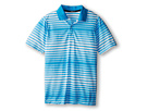 Nike Kids Bold Stripe Polo (Big Kids) (Vivid Blue)