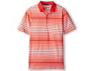 Nike Kids Bold Stripe Polo (Big Kids) (Light Crimson)