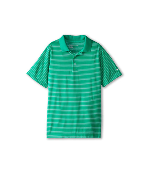 Nike Kids - Victory Stripe Polo (Big Kids) (Stadium Green) Boy