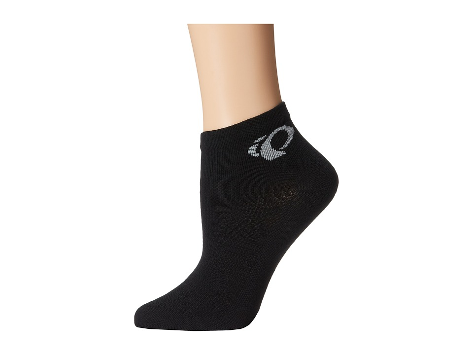 Pearl Izumi - Attack LoSock (Black) Women's Crew Cut Socks Shoes