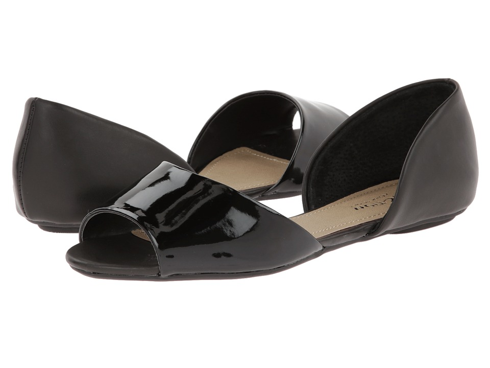 Kenneth Cole Reaction Tina Tot 2 Womens Flat Shoes (Black)
