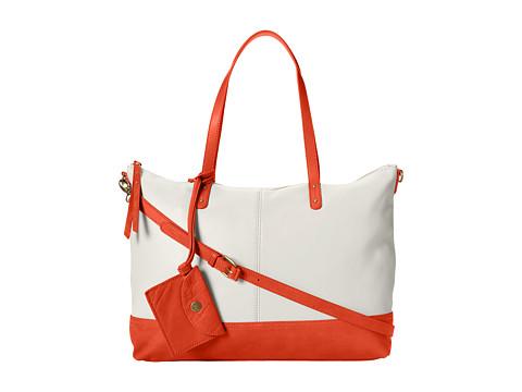 Lucky Brand - New Setauket Tote (Vanilla/Cayenne) Tote Handbags