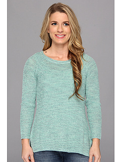SALE! $76.99 - Save $51 on NIC ZOE Petite Subtle Stitch Top (Mint Mix) Apparel - 39.85% OFF $128.00