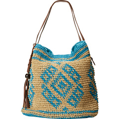 SALE! $56.99 - Save $31 on Lucky Brand Sierra Tote (Sand Turqoise) Bags and Luggage - 35.24% OFF $88.00