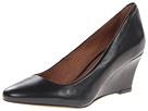 Corso Como Jayne (Black Vintage Calf) Women's Wedge Shoes
