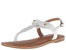 Corso Como Bronte (White Vintage Calf) Women's Sandals