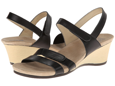 Wolky - Gula (Black Smooth) Women's Shoes