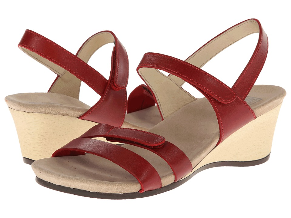 Wolky - Gula (Red Smooth) Women's Shoes