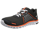 Reebok Realflex Scream 4.0 (Gravel/Swag Orange/White) Men's Running Shoes