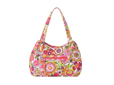 Vera Bradley Emily Satchel (Clementine) Satchel Handbags