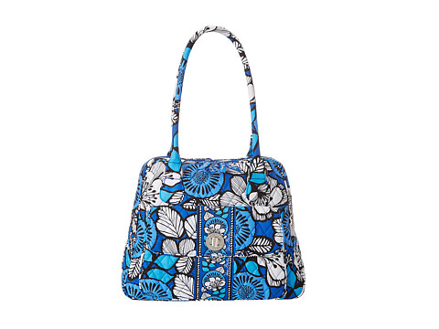Vera Bradley - Turn Lock Satchel (Blue Bayou) Satchel Handbags