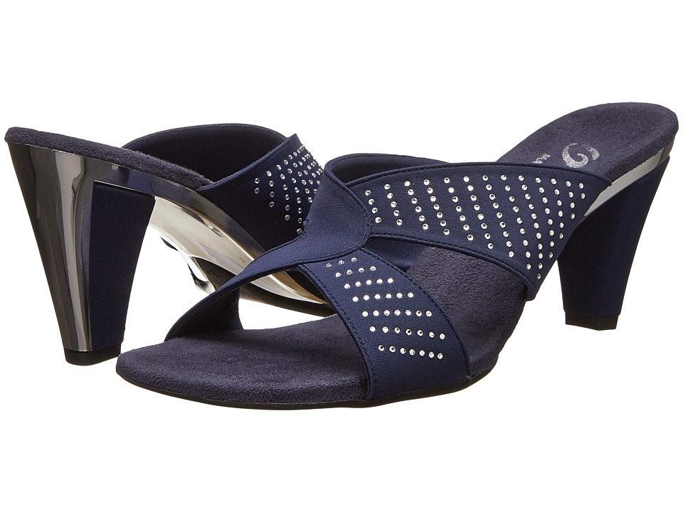 Onex - Adelle (Navy Elastic) Women's Dress Sandals