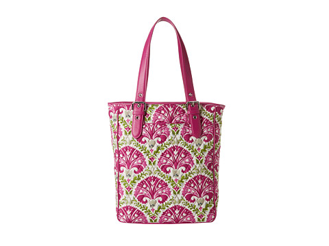 Vera Bradley - Buckle Tote (Julep Tulip with Plum Trim) Tote Handbags