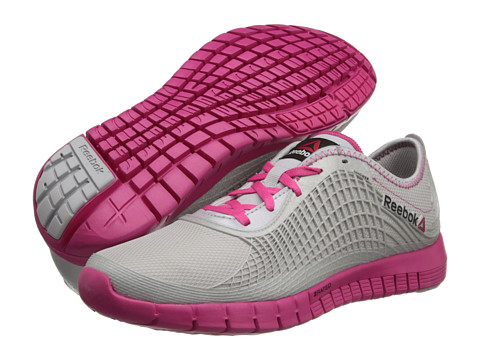 Reebok Z Goddess (Steel/Pink Fusion/Silver/Cardy Pink) Women's Running Shoes