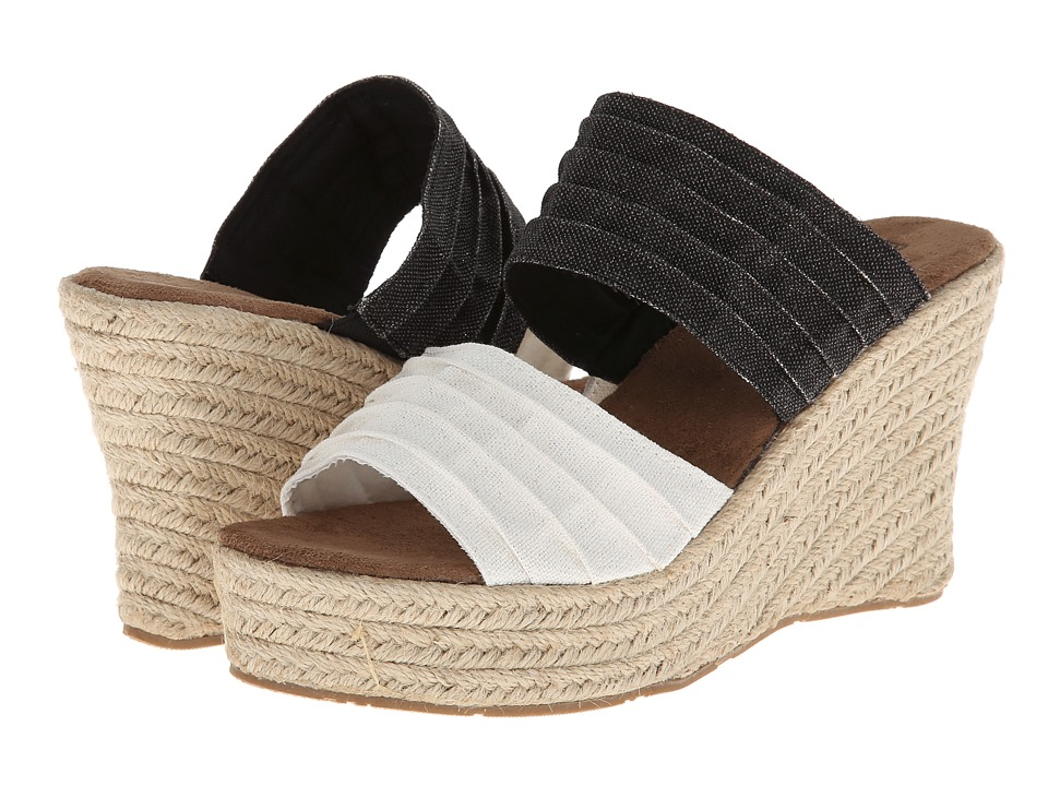 Bearpaw - Primrose (Black/White) Women's Shoes