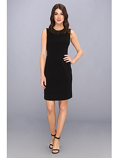 SALE! $72.99 - Save $65 on Calvin Klein Sheath w Grommet Neckline (Black) Apparel - 47.11% OFF $138.00