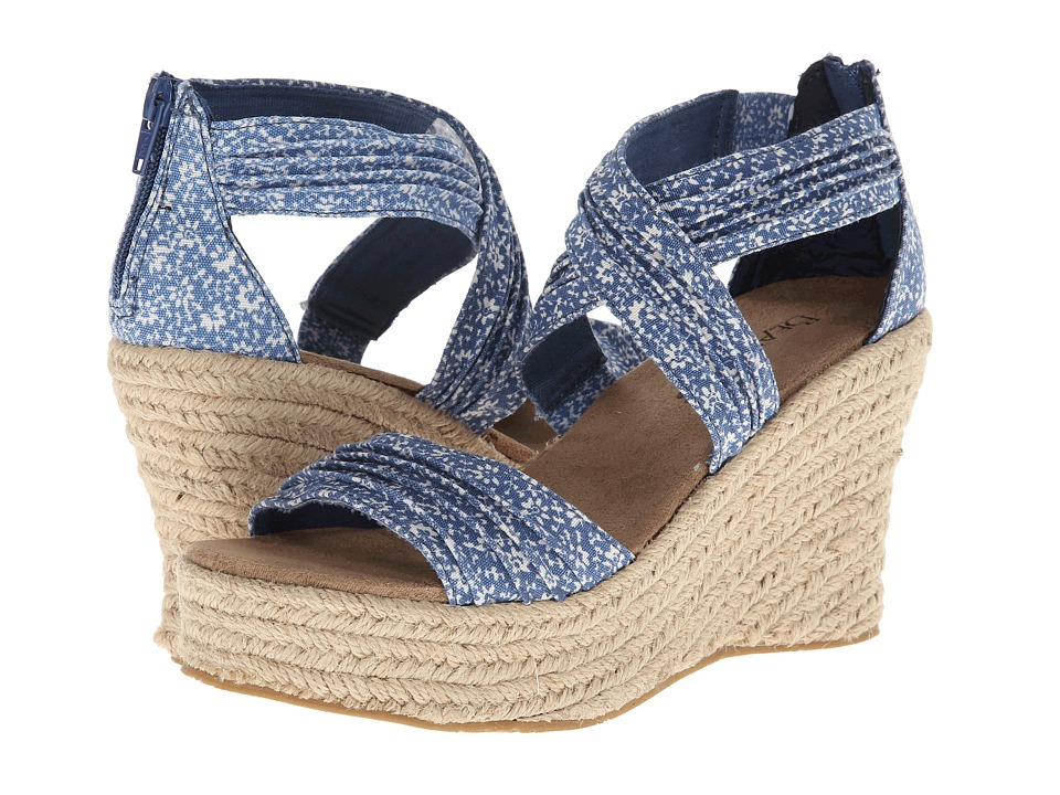 Bearpaw - Begonia (Blue) Women's Wedge Shoes